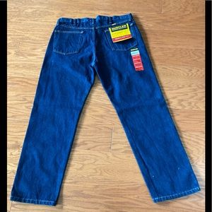 Men's Work Jeans. Rustler Classic Straight Leg